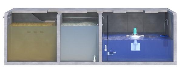 Station d'épuration AQUAmax Professional XXL