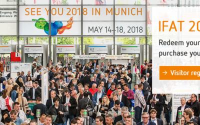 ATB participe au Salon IFAT de Munich du 14 au 18 mai 2018