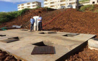 Station d'épuration SBR 366 EH pour 7 immeubles