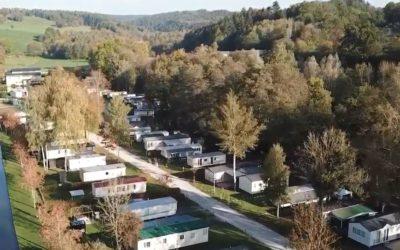 Station d'épuration dans le plus grand camping de Wallonie