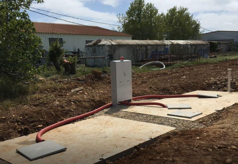Station d'épuration pour bungalows
